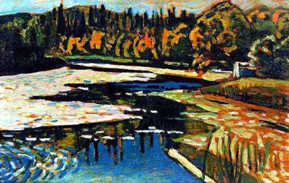 Vassily Kandinsky, Fiume d'autunno.