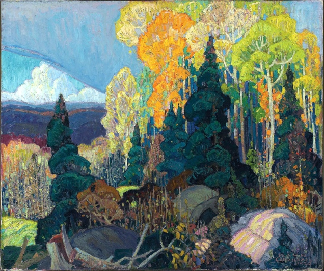 franklin-carlmichael-autumn-hillside-1920