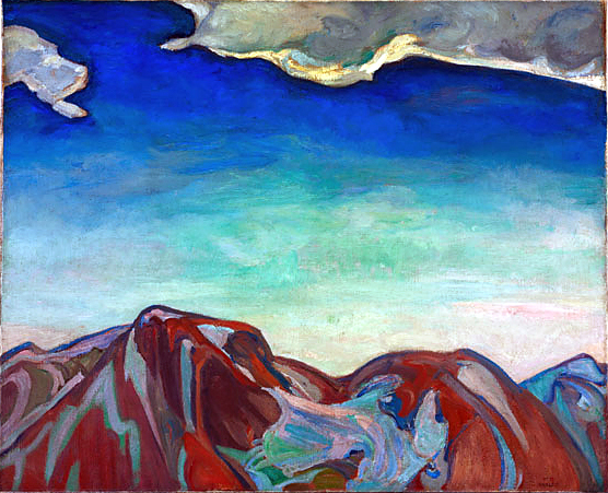 F. Horsman, The cloud red mountain.