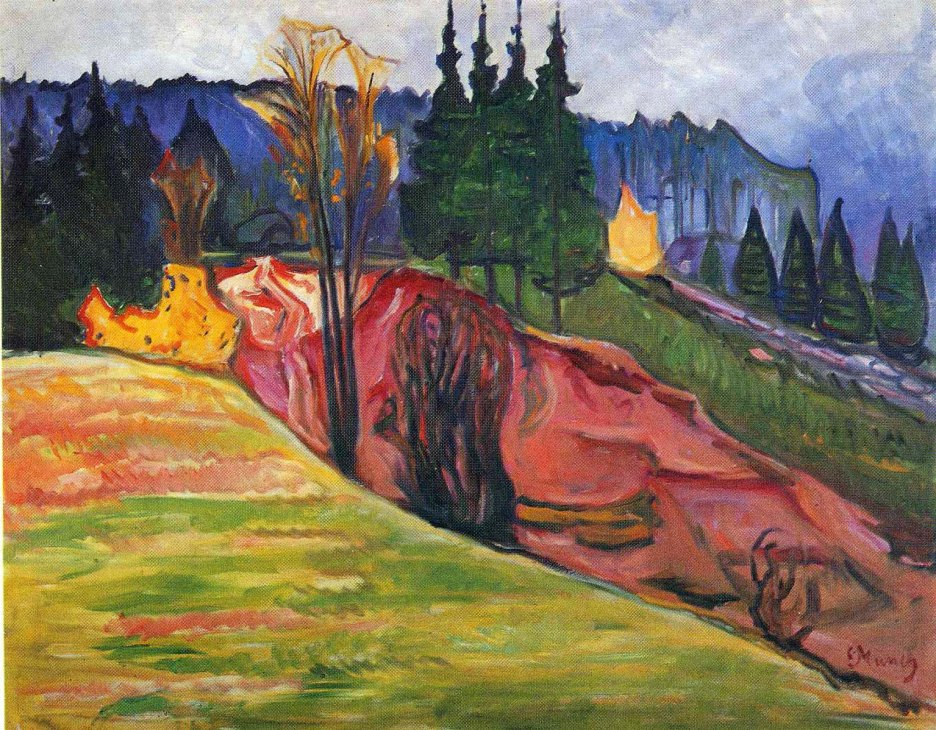 Edvard Munch, from thuringewald.