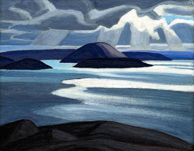 Lawren Harris, Lake Superior (sketch).