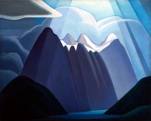 Lawren Harris, Untitled mountain landscape.