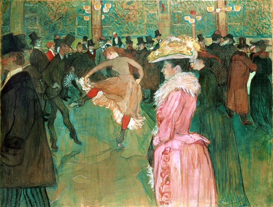 Henri de Toulouse Lautrec, Al Moulin Rouge, la danza.