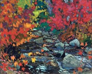 J. E. H. Macdonald, Autumn leaves.