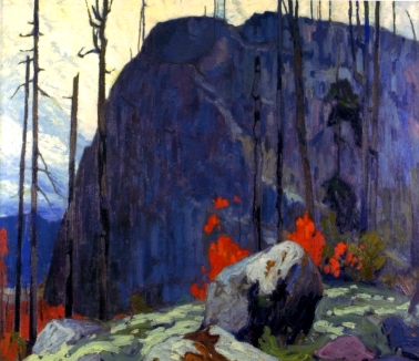 LawrenHarris-Algoma-Hill-1920