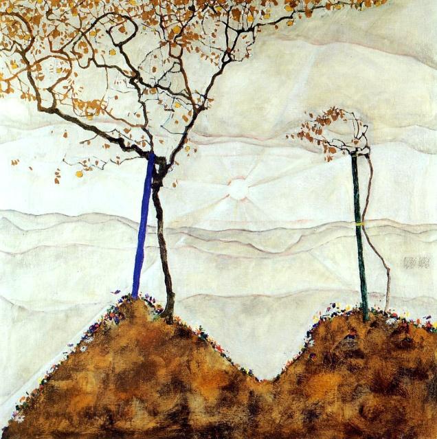 Egon Schiele, Sole d'autunno.