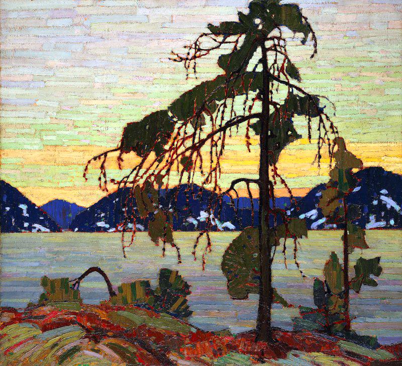 T. Thomson, the jack pine.