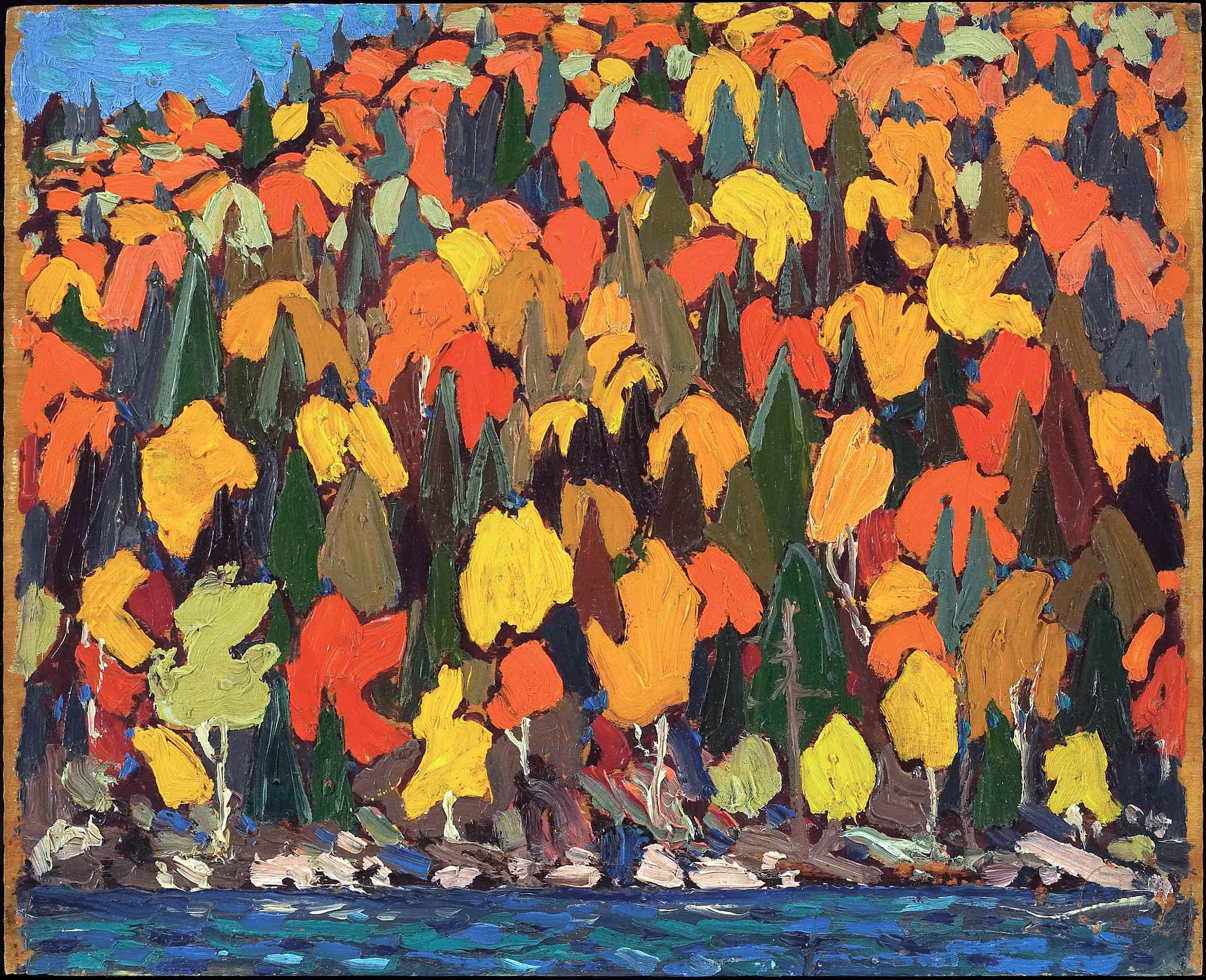 Tom_Thomson_-_Autumn_Foliage_-_Google_Art_Project