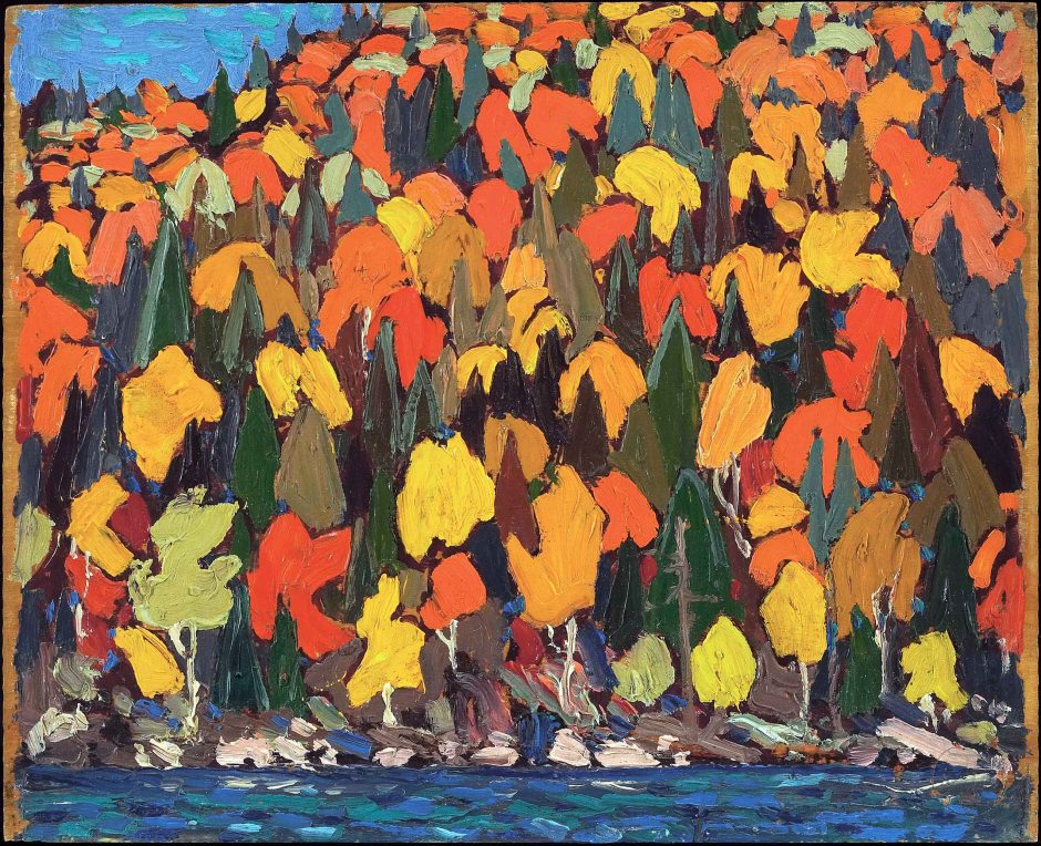 Tom_Thomson_-_Autumn_Foliage_-_Google_Art_Project