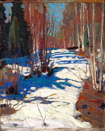 Tom Thomson, Path behind Mowat Lodge