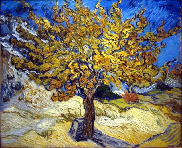 Vincent Van Gogh, Albero di more.