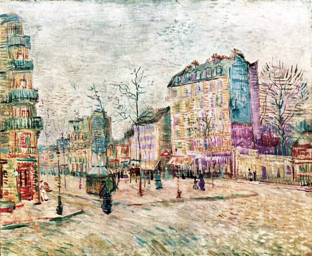 Vincent Van Gogh, Boulevard de Clichy.