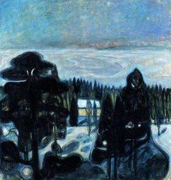 Edvard Munch, white night.