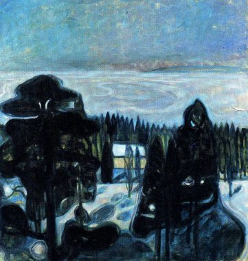 Edvard Munch, white night.