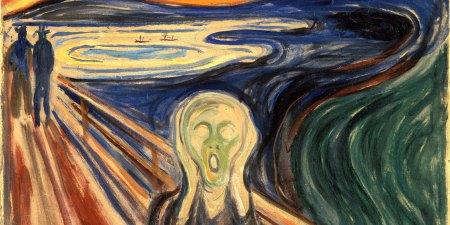 urlo di Munch quadro