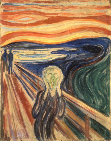 Edvard Munch, L'Urlo.