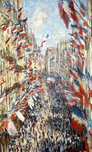 Claude Monet, Rue de Montorgueil.