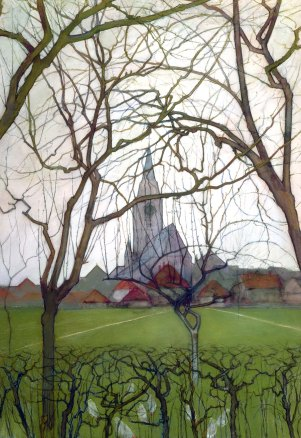 St. Jacob's church, Winterswijk, by Piet Mondriaan