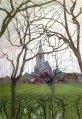 Piet Mondrian, Chiesa di St. Jacob in inverno.