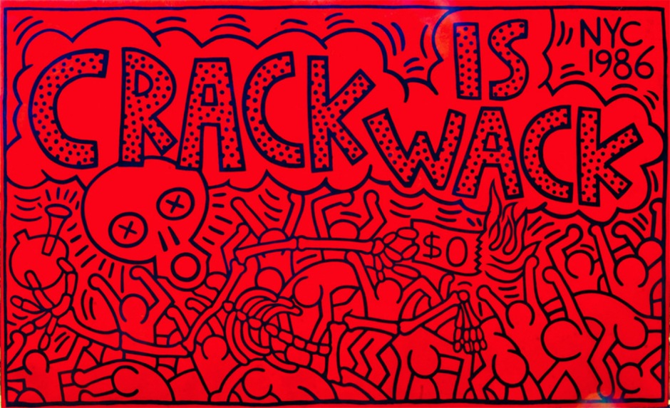 Keith-Haring-crack-is-wack