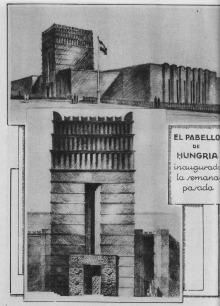 Padiglione dell'Ungheria.