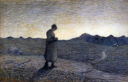 Giovanni Segantini, Ave Maria sui monti.