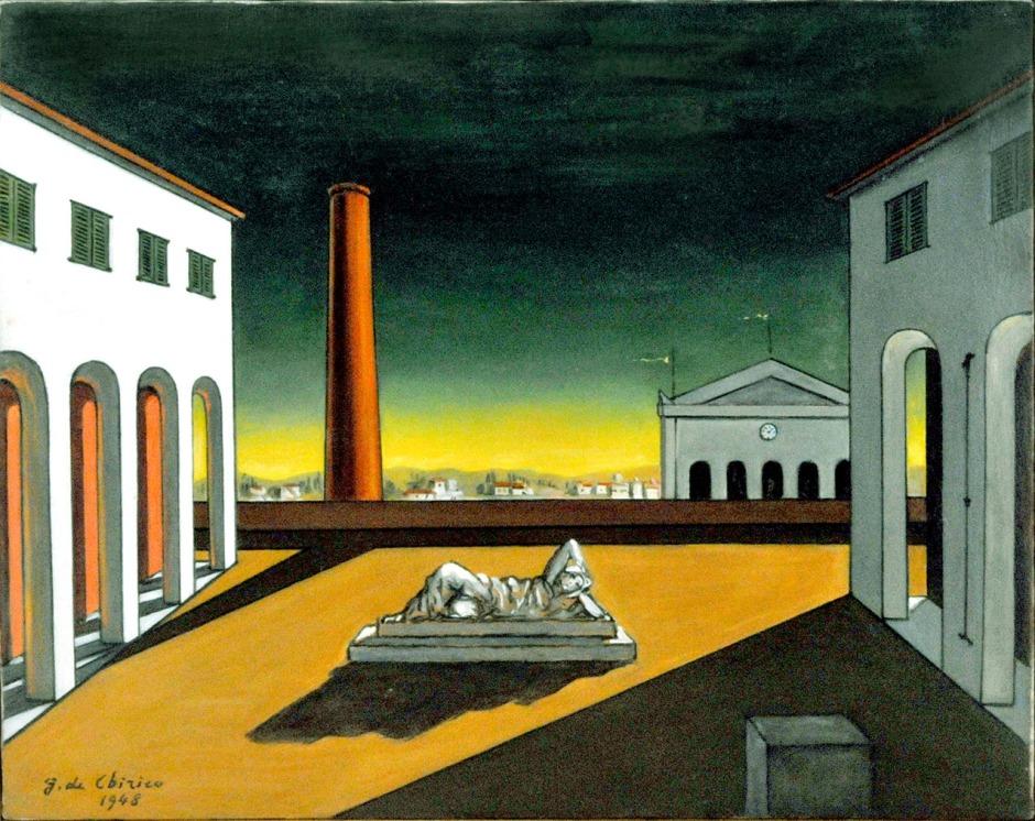 De Chirico 06 Piazza dItalia 1948-1972 cm.395X50