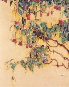 Egon Schiele, Fucsia.