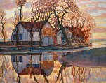 Piet Mondriaan, Fattoria vicino a Duivendrecht.