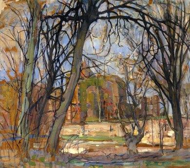 Piet Mondrian, Sole di primavera.
