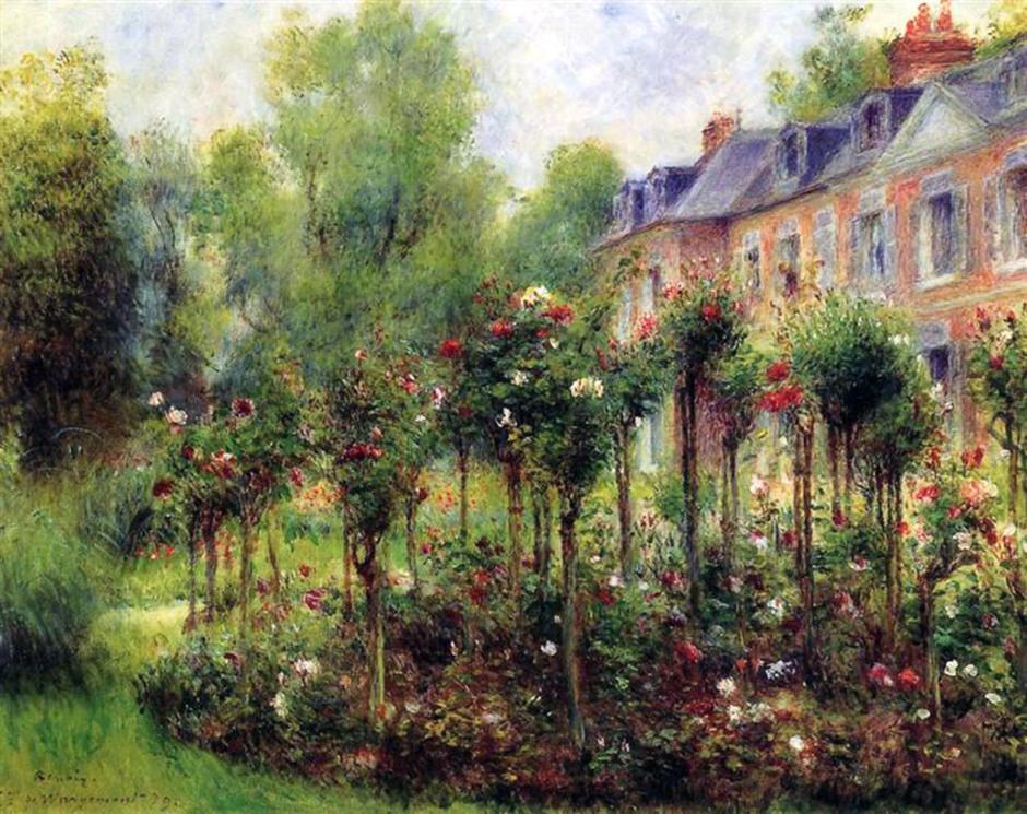 renoir-the-rose-garden-at-wargemont-1879