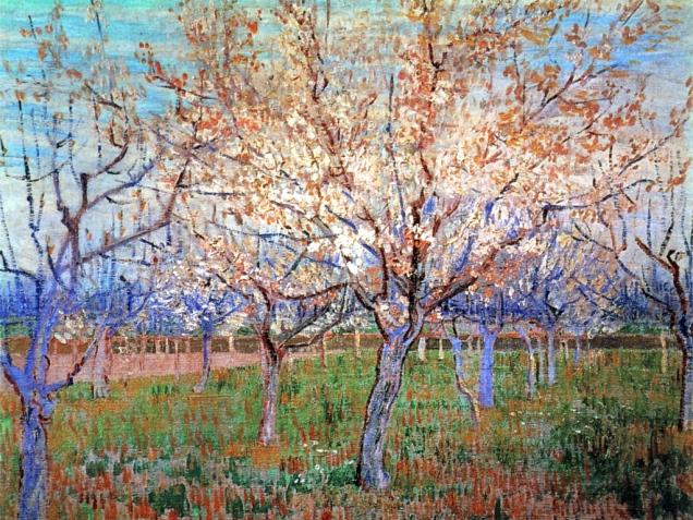Van-gogh-Albicocchi-in-fiore-primavera