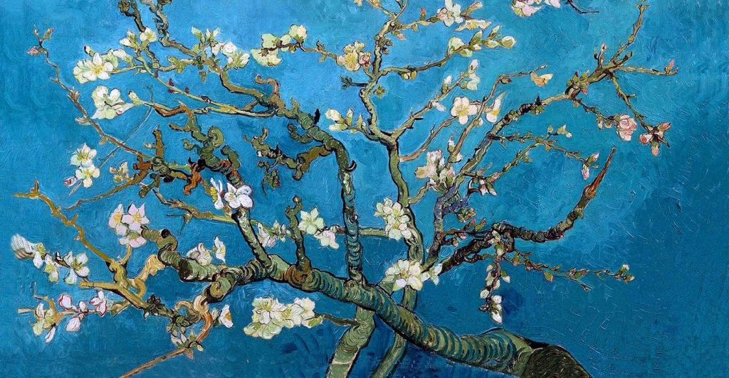 Storie di primavera la rinascita attraverso gli occhi dei for Quadri famosi da colorare van gogh