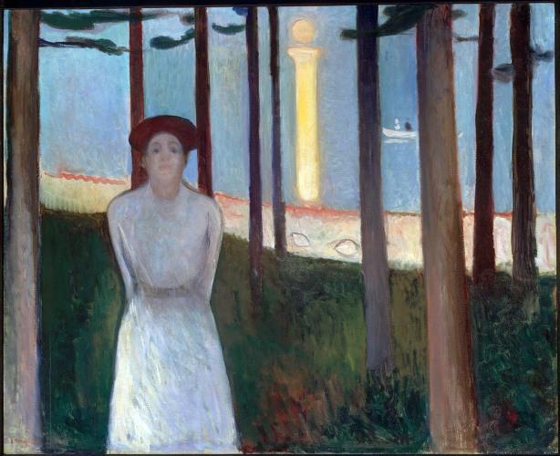 Edvard Munch, La lista rossa.