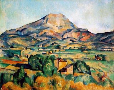Paul Cézanne, Monte Sainte-Victorie.