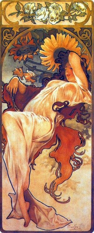 Alfons Mucha, Estate