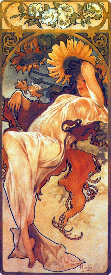 Alfons Mucha, Estate