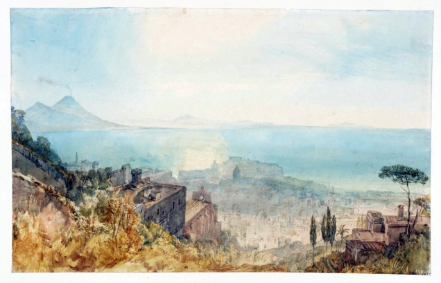Naples: the Castle of the Egg 1819 by Joseph Mallord William Turner 1775-1851