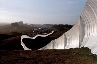 Running Fence, Sonoma and Marin Counties, California, 1972-76