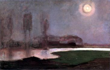 Piet Mondrian, Notte d'estate.
