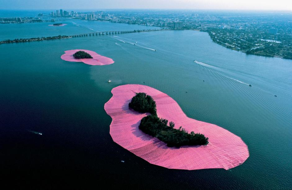 Surrounded Islands, Biscayne Bay, Greater Miami, Florida, 1980-83d