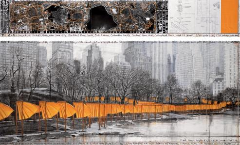 The Gates, Central Park, New York City, 1979-2005 1