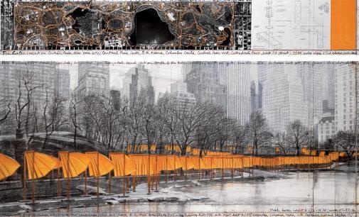 The Gates, Central Park, New York City, 1979-2005 1