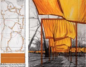 The Gates, Central Park, New York City, 1979-2005 2