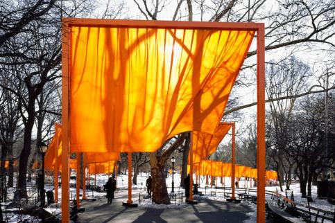 The Gates, Central Park, New York City, 1979-2005 5