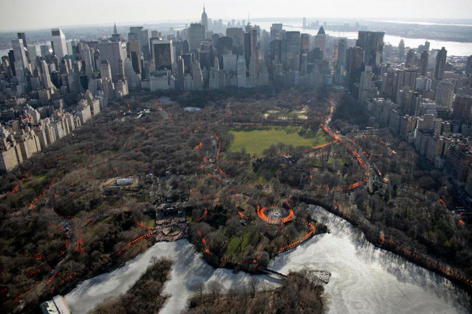 The Gates, Central Park, New York City, 1979-2005 7