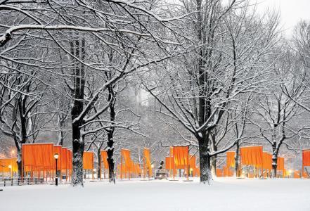 The Gates, Central Park, New York City, 1979-2005 9