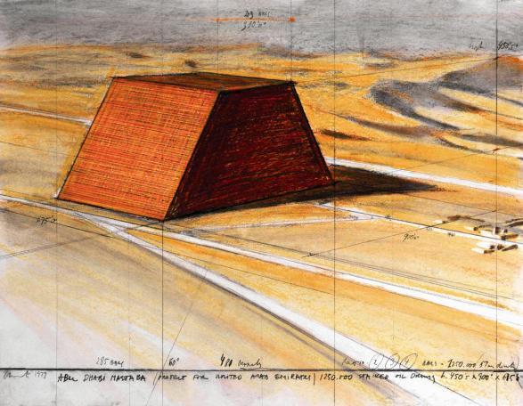 The Mastaba of Abu Dhabi (Project for United Arab Emirates)