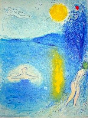 Marc Chagall, La stagione estiva.