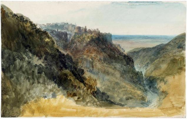 Tivoli 1819 by Joseph Mallord William Turner 1775-1851